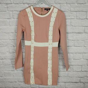 NWOT Fashion Nova Long Sleeve Bodycon Dress